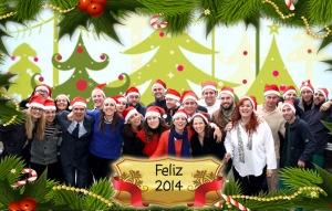 Felices fiestas desde Ciomijas